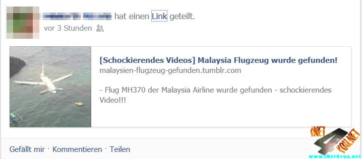 malaysi Flugzeug video fake